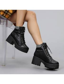 Miki Dogtooth Boots by Koi Footwear