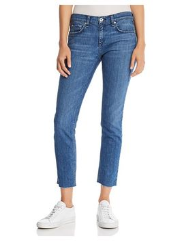 Dre Raw Edge Slim Boyfriend Jeans In Lovie by Rag &Amp; Bone/Jean