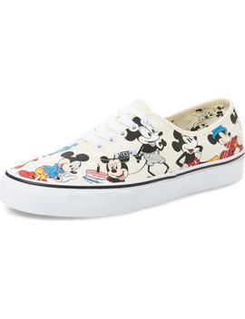 X Disney Authentic Low Top Sneaker by Vans