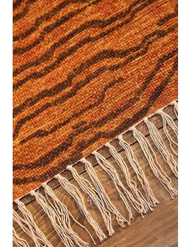 Printed Abstract Tiger 3x5 Rug by Urban Outfitters