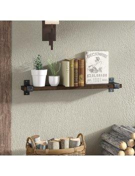 Loon Peak Farrell Industrial Wall Shelf & Reviews by Loon Peak