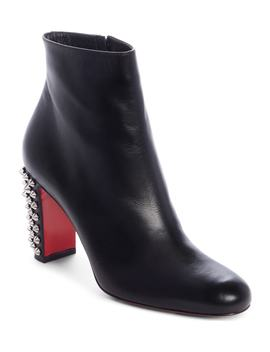 Suzi Folk Spiked Bootie by Christian Louboutin