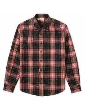 Saint Laurent Check Shirt by End.