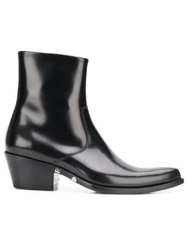 Western小牛皮短靴 by Calvin Klein 205 W39nyc