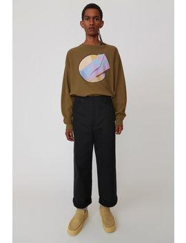 Cotton Trousers Schwarz by Acne Studios