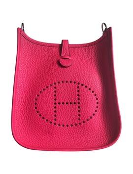 Evelyne Leather Handbag by Hermès