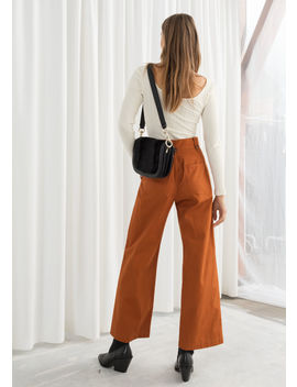 Cotton Twill Culottes by & Other Stories