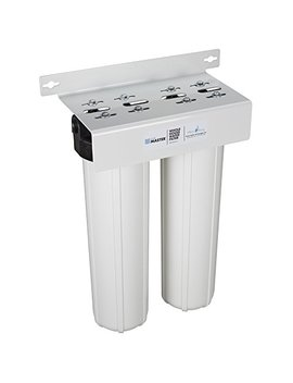 Home Master Hmf2 Smgcc Whole House 2 Stage Water Filter With Multi Gradient Sediment And Kdf85/Catalytic Carbon by Home Master
