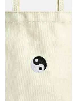 Yin Yang Canvas Tote Bag by Urban Outfitters