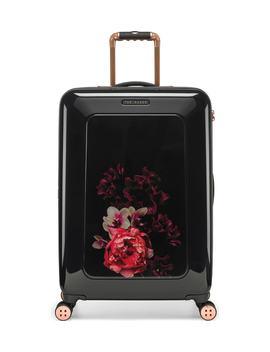 Medium Splendour Print 28 Inch Hard Shell Spinner Suitcase by Ted Baker London