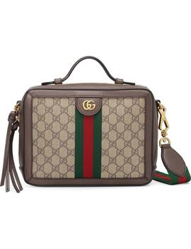 Small Ophidia Gg Supreme Canvas Shoulder Bag by Gucci