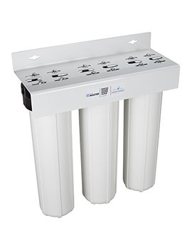 Home Master Hmf3 Sdgfec Whole House 3 Stage Water Filter With Fine Sediment, Iron, And Carbon by Home Master