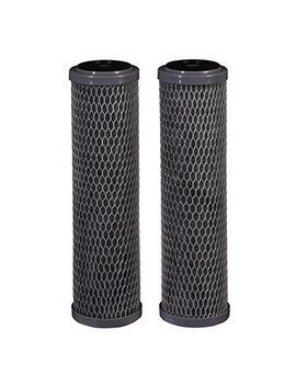 Filtrete Standard Capacity Whole House Carbon Wrap Water Filters, Reduces Chlorine Taste & Odor And Sediment, Universal Filter, Sump Style Drop In Filter, 2 Filters (3 Wh Stdcw F02), Grey by Filtrete