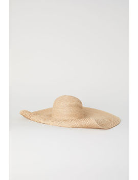 Large Straw Hat by H&M