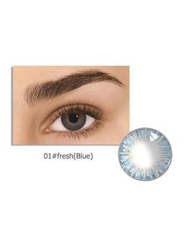 Natural Plain Glass Contact Lenses Eyewear Party Eye Beauty Makeup Tools Annual by Unbranded