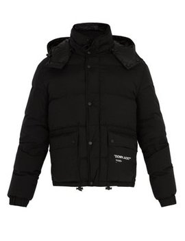 Down Puffer Jacket by Off White