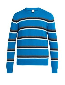 Stripe Crew Neck Wool Sweater by Paul Smith