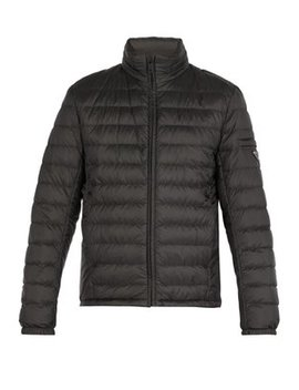 Lightweight Quilted Down Jacket by Prada
