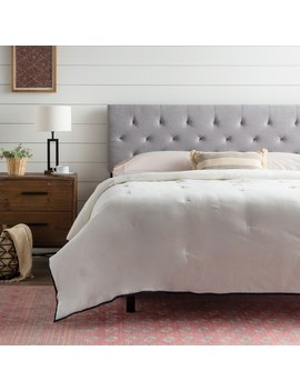 Brookside Emmie Adjustable Upholstered Headboard by Brookside