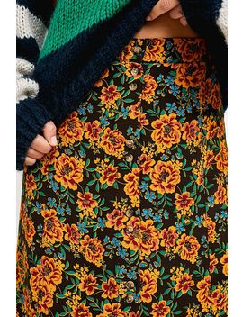 Uo Ella Floral Midi Skirt by Urban Outfitters