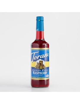 Sugar Free Torani Raspberry Syrup by World Market