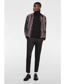 Flap Pocket Chino Trousers  New Inman by Zara