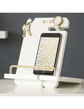 Cathys Concepts Personalized Lacquer Docking Station by Cathys Concepts
