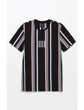 Huf Marka Vertical Stripe T Shirt by Pacsun