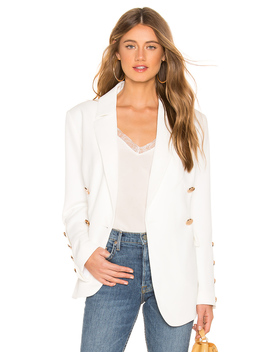 Just Mine Blazer In Ivory by Keepsake