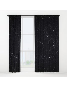 Constellations Window Curtains by