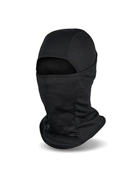 Balaclava Ski Mask, Winter Hat Windproof Face Mask For Men And Women, Black by Fantastic Zone