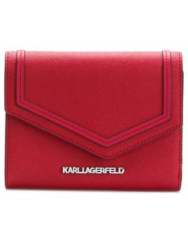 Leather Purse by Karl Lagerfeld
