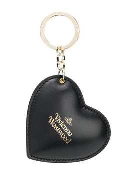 Logo Heart Keyring by Vivienne Westwood