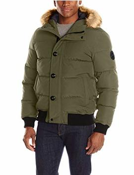 Levi's Men's Shorty Snorkel Quilted Hoody Bomber by Levi%27s