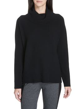 Cashmere Turtleneck Top by Eileen Fisher