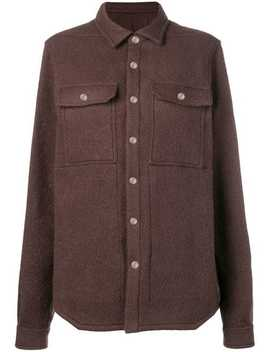 Overshirt Coat by Rick Owens