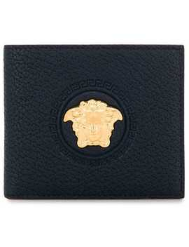 Medusa Head Bifold Wallet by Versace