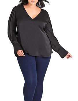 London Calling Top by City Chic