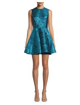 Stasia Deep Pleat Party Dress by Alice + Olivia