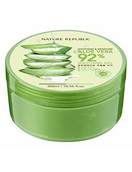 Nature Republic New Soothing & Moisture Aloe Vera 92 Percents Gel, 10.56 Fl Oz by Nature Republic
