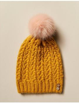Knitted Pom Beanie by Fat Face