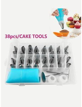 Piping Nozzle Set 38pcs by Sheinside
