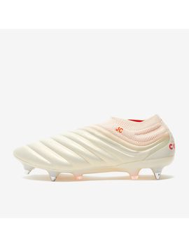 Adidas Copa 19+ Sg   Off White/Solar Red by Pro Direct Soccer