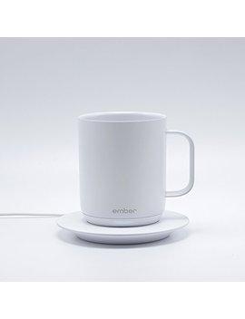 Ember Temperature Control Ceramic Mug, White   Cm17 by Ember