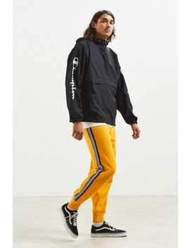 Uo Terry Golden Fleece Side Stripe Jogger Pant by Urban Outfitters