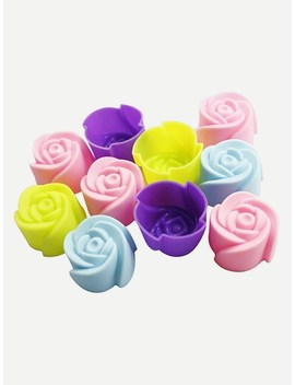 Rose Shaped Baking Mould by Sheinside