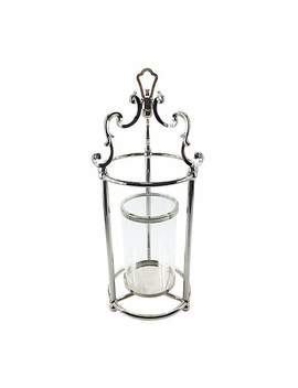 Dorma Silver Lantern by Dunelm