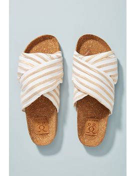 Figue Suki Slide Sandals by Anthropologie