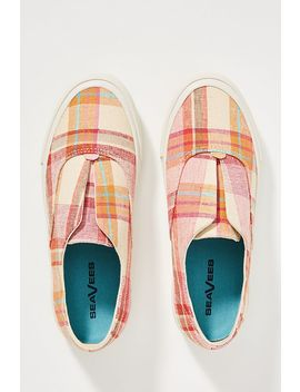 Sea Vees Plaid Sunset Strip Sneakers by Sea Vees