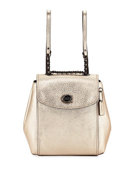 Parker Metallic Backpack by Coach 1941